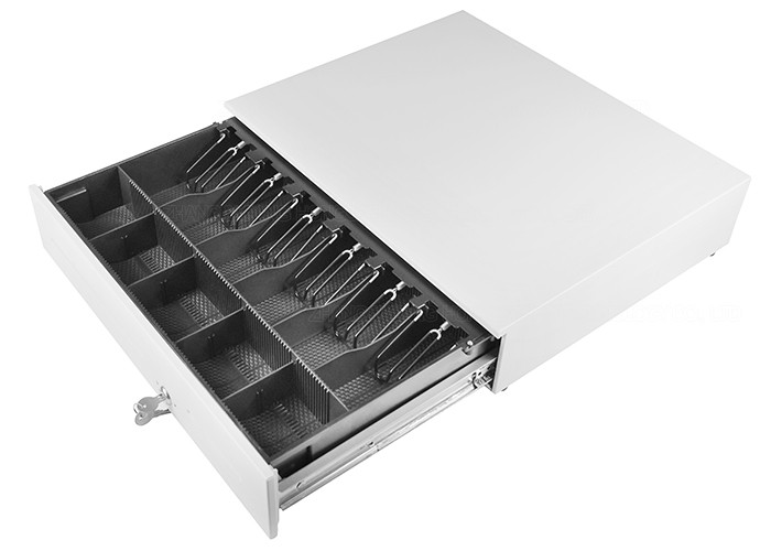 Heavy Duty Metal Drawers Cash Registers Drawer 19.6 Inch Ball Bearing Slides 490