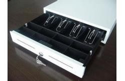 Lockable Electronic Cash Drawer Manual Metal Money Box With Slot 410M