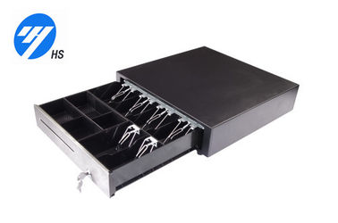 16.5 Inch POS Cash Drawer , 6 Bill 4 Coin Square Register Cash Drawer Without Interface 4242P