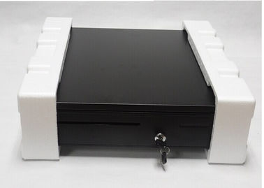 Mobile Point Of Sale Cash Drawer USB Cash Drawer With 6 Bill / 4 Coin Adjustable