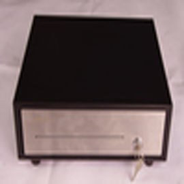 Retail Pos Lockable Cash Drawer , RJ11 / RJ12 / USB / RS232 Cash Drawer